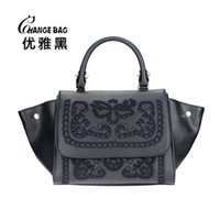 Wholesale Women s Handbag Women s Embroidered Openwork Lace Bag Shoulder Bag Luxury Women Designer Handbags High Quality Brand