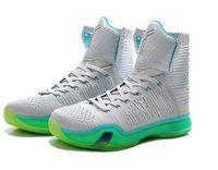 2016 (con la caja) Venta al por mayor Kobe KB 10 X Elite alto eleva a los hombres de oro del color de rosa los zapatos de los amaestradores de las zapatillas de deporte del baloncesto de los hombres