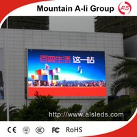 advertising stages - Shenzhen Mountain A Li Group P6 HD outdoor full color LED display screen for advertising stage performace