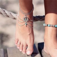 barefoot sandals jewelry - Anklet Jewelry Anklets Hollow Out Hoard Of Restoring Tassel Anklets Bohemia Anklet Boho Beads Anklets Bracelet Foot Chain Beach Fashion