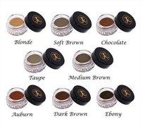 best eyebrow - 2016 ANASTASIA Dipbrow Pomade Blonde Auburn Chocolate Dark Brown Ebony Waterproof Eyebrow best quality fashion item in stock FREE DHL