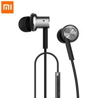 best hybrid irons - 2016 best selling Original XIAOMI Hybrid Piston Dual Driver Earphone Stereo In Ear Circle Iron Balanced Armature Mic For Xiao Mi Android