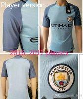 Wholesale player version Top quality Adult maillot de foot Shirts Camisetas KOMPANY STERLING SILVA survetement Manchester city Soccer jersey