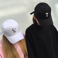 Wholesale 2016 Summer Cartoon Peanuts Caps For Women Men Outdoor Snapback Hats Sport Hat Fashion Baseball Cap Military Hat Sun Visors