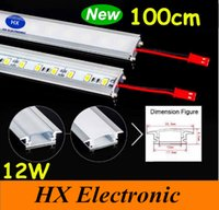 Wholesale Hot sale cm Led Bar Light U Type Aluminum Alloy Slot W Led Rigid Strips Light Warm Pure Cool White SMD5630 LED Tube