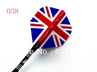 Wholesale a Dart Game Accessories International Flag EPT Dart Flights From Dart Supplies Color For Choose