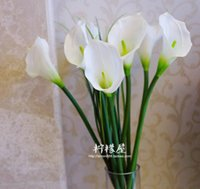 Wholesale Feel the Calla flower glue silicone simulation indoor decorative flower Home Furnishing landing glass bottle collocation floral special offe