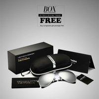 Wholesale 2016 New Brand Fashion sun glasses Frog Mirror sunglasses men sunglass women brand designer VEITHDIA driving sunglasses