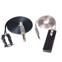 Wholesale Good Quality Best Price NEW ft Stainless Steel Flat Thin Tattoo Foot Pedal Switch Power Supply Machine