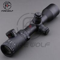 ak rifle scope - Free Sshipping x42 Turret Lock Riflescope Mil Dot mm IR Hunting Tactical Military Rifle Scope Sight Ar15 AK