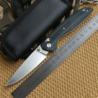 axis roller - shirogorov AXIS Roller Bearing folding knife D2 blade G10 handle outdoor Survival camping hunting pocket utility knives EDC tools