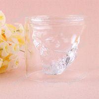 Wholesale tradehub Cool Shot Skull Head Vodka Cristal Vin potable Ware Home Bar Onces High Quality