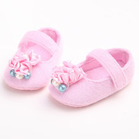 baby shoes charm - The Flower Of Fold Shining Baby Shoes Bright Pink Charm First Walkers Hot Sale Newborn Infant Toddler Babies Shoes
