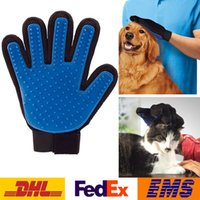 Wholesale Hot Sale Pet Cleaning Glove Puppy Dog Cat Grooming Cleaning Glove Right Silicone Massage Removal Dirtly Bath Comb Brush Hair Tools WX G01