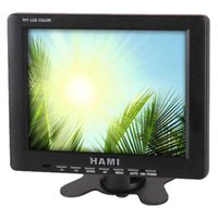 Wholesale HAMI H8001T inch Industrial LCD Monitor digital LCD Monitor with AV and VGA Input BNC or TV input is optional