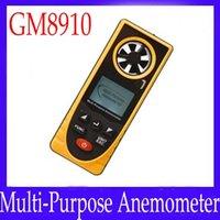 barometric pressure meter - multi purpose digital wind speed meter GM8910 for wind speed barometric pressure altitude