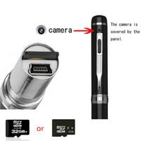 Wholesale 32GB HD P Multifunction Mega Pixels Spy Hidden Camera Spy Pen Camera Micro Hidden Candid Camera Mini Video Pen DVR