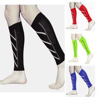 Wholesale 2016 HIGH QUALITY Pair Night Running Socks Outdoor Sport compression socks Women Men Lower Leg Pressure Socks Long Socks HW720