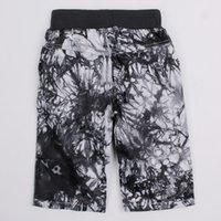 Wholesale Baby kids black clothing Baby shorts shorts boys shorts Kids Clothing Cute Gray pattern vest apricot