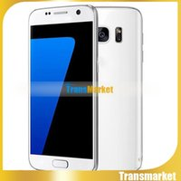 android smartphone - Unlocked Phone S7 MTK6580 Quad Core Real GB inch Android Show Fake G Nano SIM Cheap Mobile Smartphone S7 clone