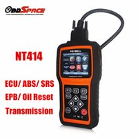 automotive air bag - Newest Automotive scanner Car Diagnostic Tool Foxwell NT414 For Air Bag SRS Reset Tool Engine Oil Light Reset EPB Service Tool