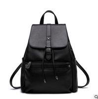 Wholesale 2016 New Brand Design Genuine Leather Women s Backpacks Cowhide Shoulder Bag Hot Sales Ms School Bag Travel Backpack