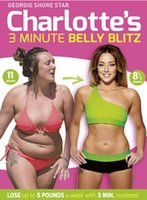 Wholesale Big sale Charlotte s Minute Belly Blitz Workout Fitness UK Version Region