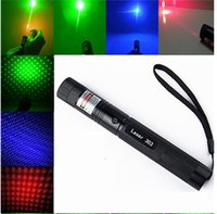beam military - Super Powerful AAA NEW m nm high power green red blue violet laser pointers focus Lazer Beam Military burning match burn cigarettes