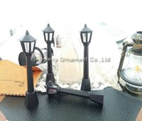 Wholesale Christmas Ornaments For Garden - 8cm christmas tree ornaments black stree light decoration new year party DIY plastic decoration home and garden ornament for new year