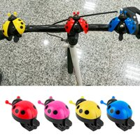 Wholesale Lovely Kid Beetle Ladybug Ring Bell For Cycling Bicycle Bike Ride Horn Alarm
