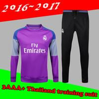 Wholesale 16 survetement football Portugales Real Madrid training suit tracksuit maillot de foot camisetas chandal futbol pants jogging jerseys