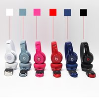 Wholesale High Quality Refurbished beats Solo Wired Headphones On ear Noise Cancel Headphones used Headset with seal retail box Free Drop shipping