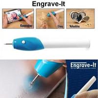 Wholesale EZ Engraving Pen for scrapbooking tools Stationery DIY Engrave it Electric Carving Pen Machine Graver Tool Engraver