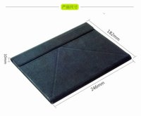 Wholesale x Multifunctional slim bluetooth keyboard with touch pad Leather Bracket for tablet PC Smartphone laptop