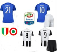 Wholesale The latest Juventus Sets shirt Home and away Rugby Sets Thai version of the quality of