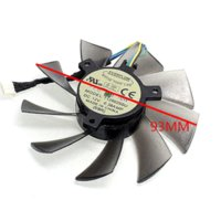 Wholesale New HD7970 HD7950 GTX680 DirectCU II ENGTX580 DCII Graphics card fan T129025SU mm diameter V A