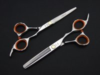 Scissors Kit barber kits - Professional hair scissors high quality Hair Scissors Cutting and Thinning Scissors INCH or INCH barber scissors NEW HOT