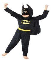 bat man costumes - HALLOWEEN Muscle Bat man Bat Robin Hero Outfit Boy Kid Party Cosplay Costume Muscle Bat Man Child Boy Costume