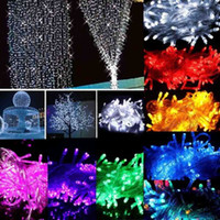 Wholesale 100 LED Christmas Tree Fairy Colorful String Party Lights Lamp Xmas Waterproof