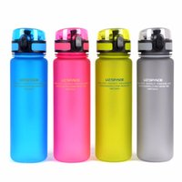 UZSPACE Ma bouteille d'eau préférée (500ml) BPA FREE Plastic Water Cup Amateurs portables Choix pour l'école de sports extérieurs