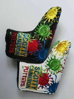 Wholesale New Scoty TOUR ONLY C T PU Cover Golf Club Covers Putter Headcovers Golf Head Cover