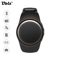 Wholesale Ubit B20 Smart Watch With Self timer Anti Lost Alarm Music Sport Mini Bluetooth Speaker Support TF Card FM Radio AUX Hands free