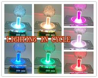 arcade joystick for pc - 2 of lighted Illuminated color joystick with crystal bobble top ball and microswitch parts for arcade game machine