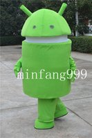 android fancy - New arrival Adult lovely Android Robot Mascot Costume Fancy Dress Cartoon Costume Factory Direct