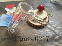 Wholesale new Gra LABS Glass smoking pipes Glass Bubbler Pipe by Gra Labs dry herb pipes Black Red White Blue Green