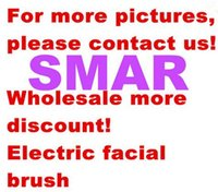 Wholesale Wireless Charging Waterproof Ultrasonic Deep Pores Facial Cleansing Brush face Massager cleanser