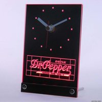 dr pepper - tnc0133 Dr Pepper Drink Good For Life Table Desk D LED Clock