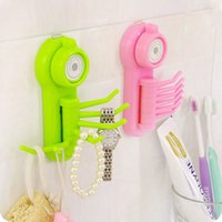 Wholesale Bathroom Kitchen Stronger Wall Sucker Vacuum Suction Cup Swivel Hook Hanger