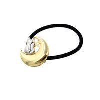 achat en gros de chats de bande élastique-Cats Elastic hairbands pour les femmes filles Moon Star Cats alliage pony tails bandes titulaire Metal Lady hairwear Nouveau Fashion Hair Jewelry
