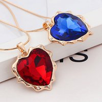 american female names - 2434 new European and American big name fashion apparel accessories necklace female hearts a long sweater with chain factory direct S280